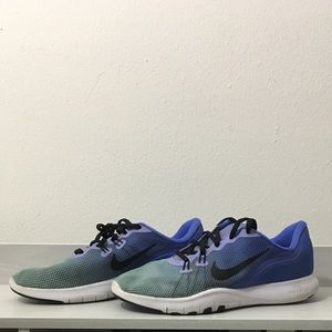 Nike Blue Ombre Training Shoes
